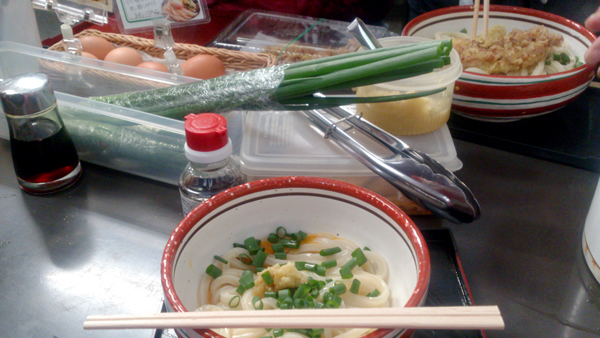 日の出製麺所 釜玉