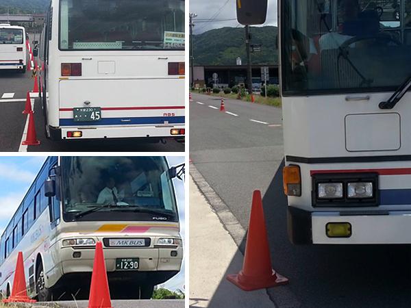 大型バス運転体験会②