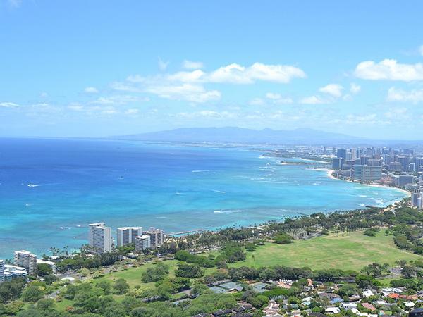 ハワイ・ホノルル景色