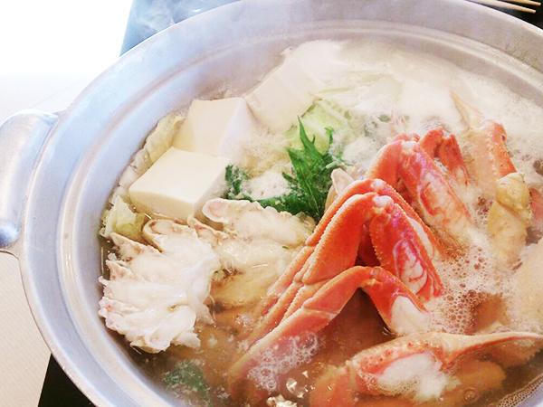 カニツアー_カニすき鍋