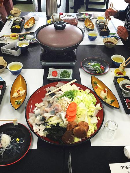 ふぐ_コース料理