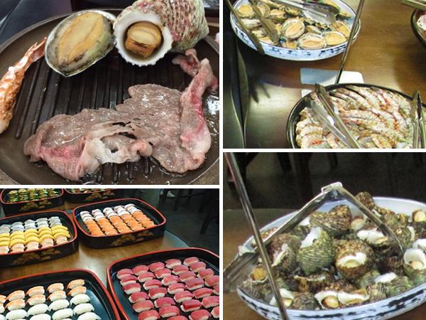 海鮮焼き&お寿司