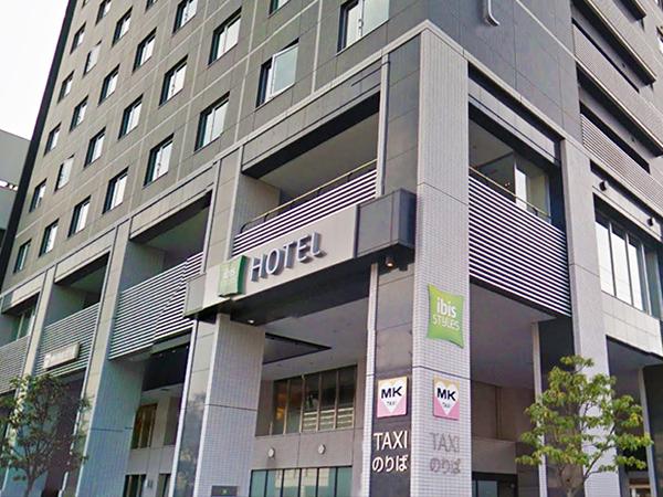 京都駅八条口MKタクシー乗り場