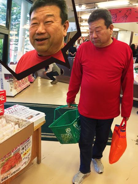 貝瀬委員長の買い物