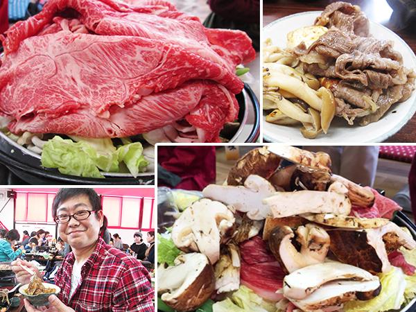 「魚松」で一生分の松茸・近江牛あばれ食い