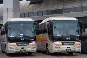 大阪営業所のバス