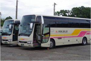 大阪南営業所のバス